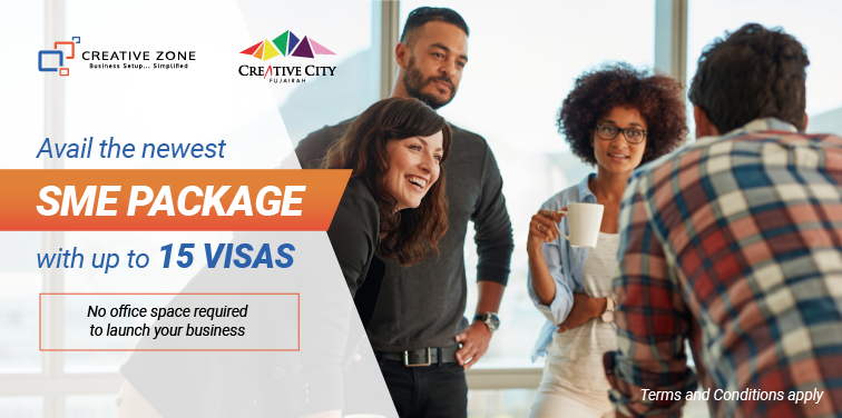 Avail the newest SME package with up to 15 visas
