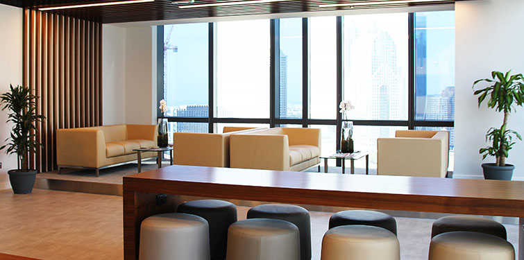 CREATIVE ZONE Business Hub provides sophisticated event space in the heart of Downtown Dubai.