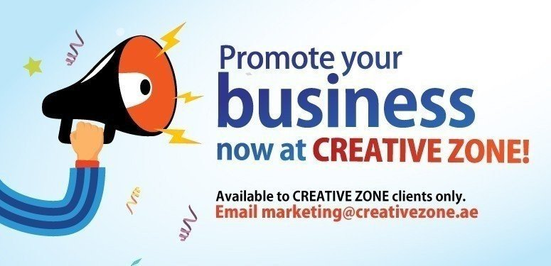 Promote your business now at CREATIVE ZONE