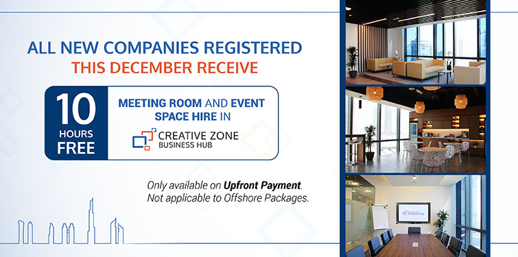 We are offering 10 free hours meeting and event space for all new clients this December.
