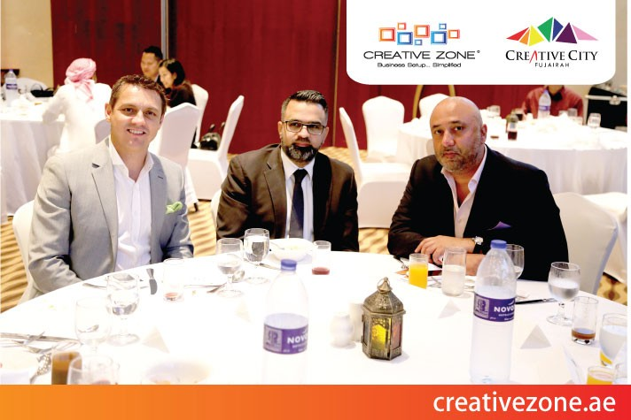 Creative City Free Zone and CREATIVE ZONE join together for IFTAR