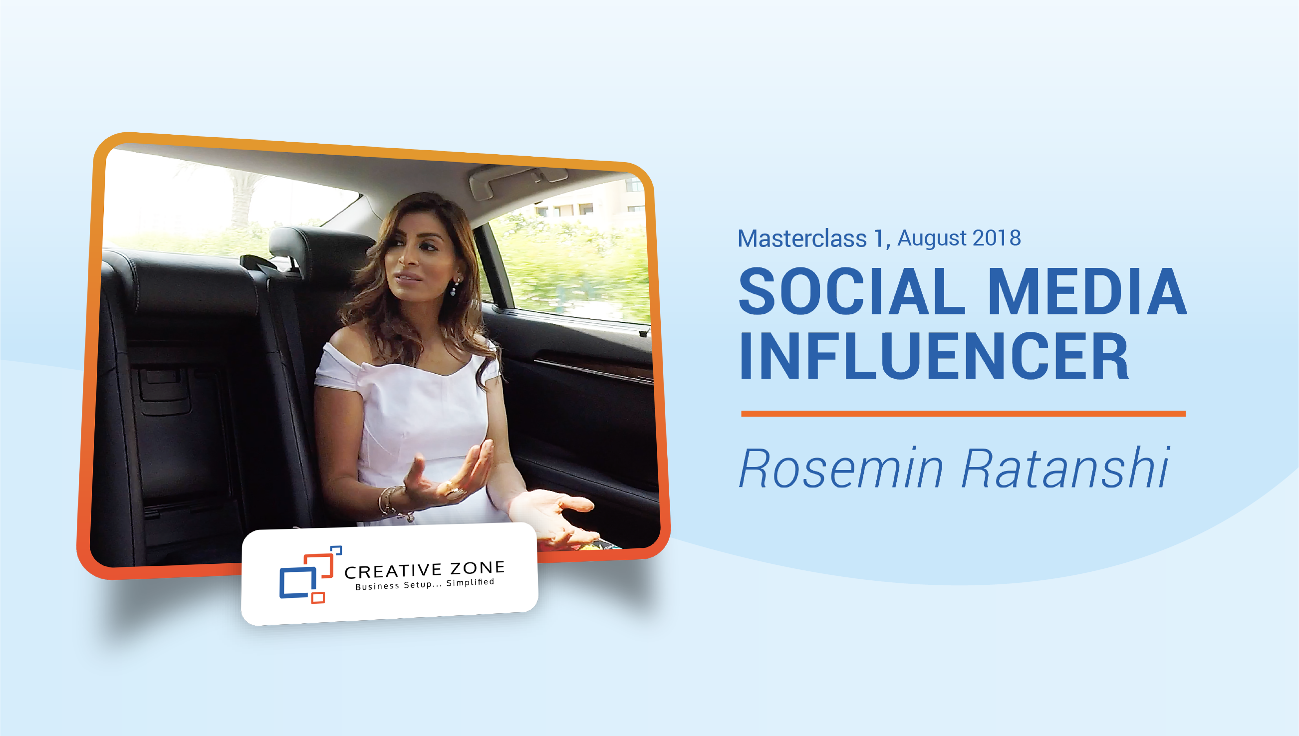 Introducing our very first CZ Entrepreneur Masterclass with Rosemin Ratanshi