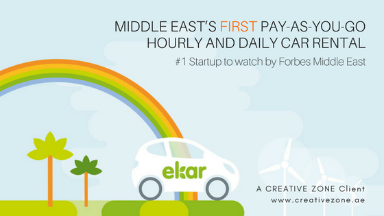 Introducing EKAR, Middle East's First App-based Car-sharing Service