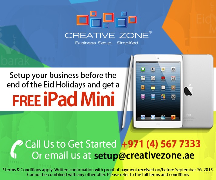 iPad Mini Eid Holiday Promotion