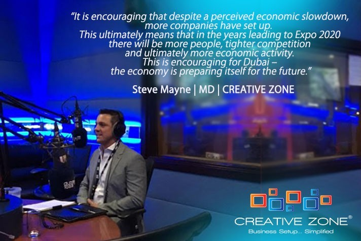 Setting Up A Company In Dubai with Steve Mayne - An Interview on Dubai Live