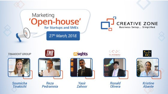 Thank You For Attending CREATIVE ZONE Marketing Open House