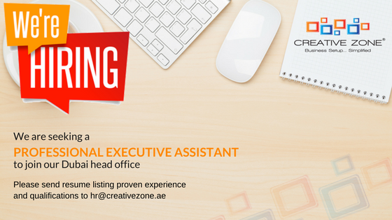 We are Seeking a Professional Executive Assistant to Join our Dubai Head Office