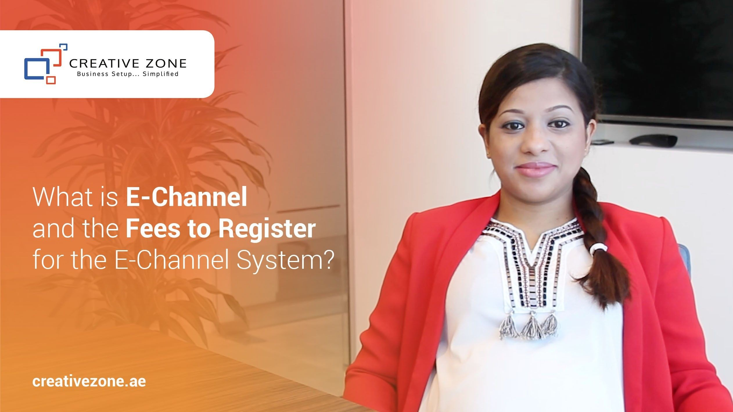 What is E-Channel and the Fees to Register for the E-Channel System in the UAE