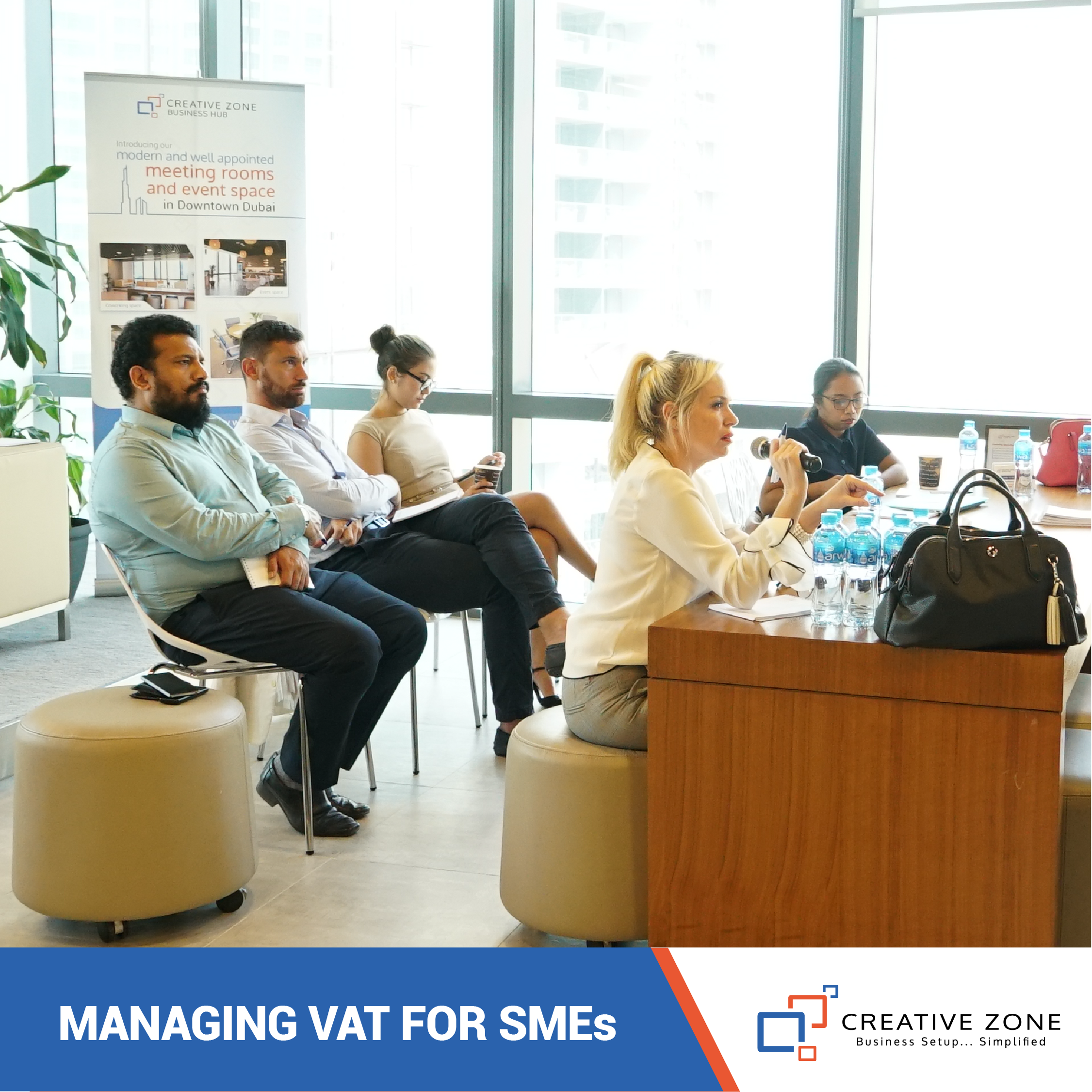 Business Intelligence Workshop on Managing VAT for SMEs
