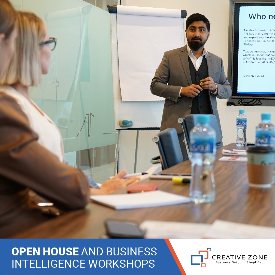 CREATIVE ZONE Open House and Business Intelligence Workshops