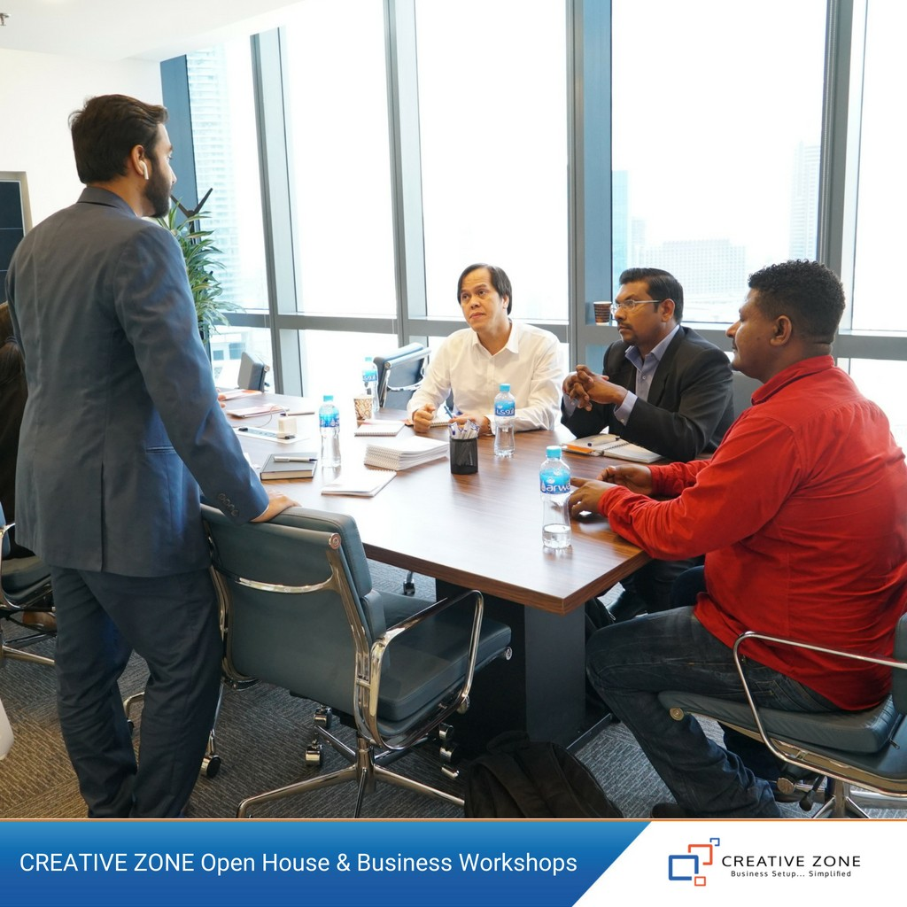 CREATIVE ZONE Open House & Business Workshops