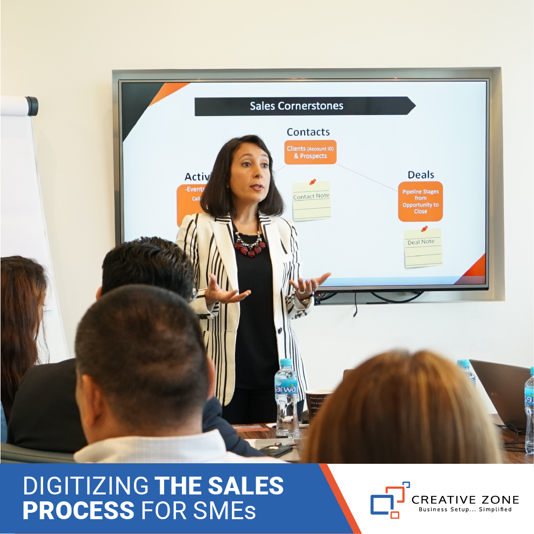 Digitizing your sales process for SMEs