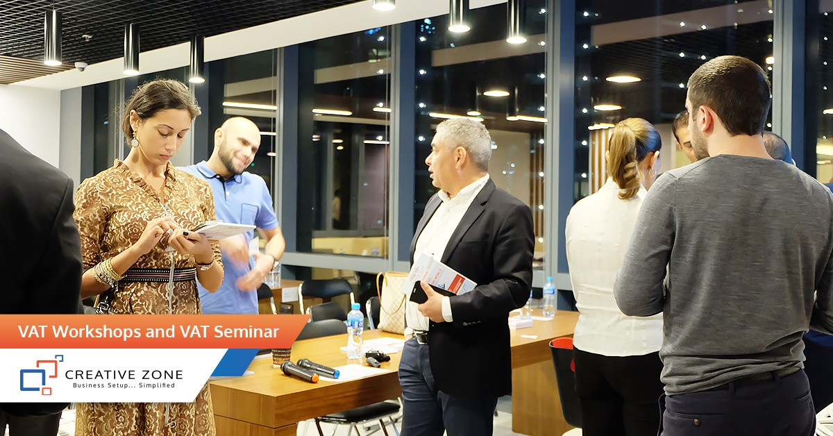 Small Business Expo, VAT Workshops, and VAT Seminar