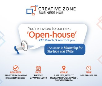 CREATIVE ZONE Open House Workshop