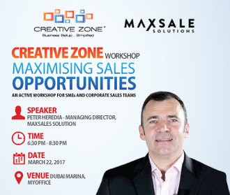 Maximising Sales Opportunities - An active workshop for SMEs and corporate sales teams