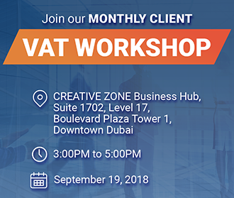 Monthly VAT workshop & Business Intelligence Workshops - September | CREATIVE ZONE