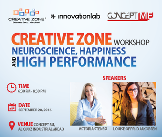 NeuroScience, Happiness and High performance workshop