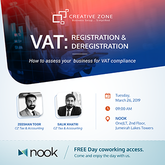 VAT: Registration and Deregistration - How to be VAT compliant in the UAE